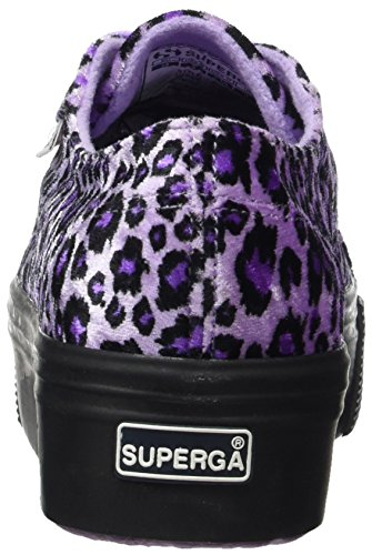 Femme Superga Velvetw 2790 Basses Animal rFI7BqF
