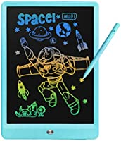 Derabika Girls Boys Birthday Gift for 3 4 5 6 7 Year Old Kids, 10 Inch Color LCD Writing Tablet Drawing Board, Erasable...