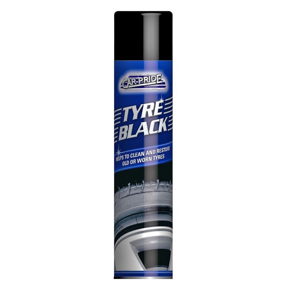 CAR VAN TYRE TYRES BLACK CLEAN CLEANER RESTORER 151