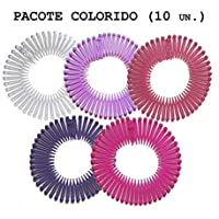 10 Tiaras Bell Para Cabelo Pacote Colorido