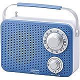 オーム電機 キッチン・シャワーラジオ ブルー RAD-T380N-A