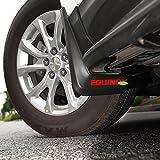 mud flaps chevrolet equinox - Kust dnb15618w Equinox Car Mudguard Splash Fender,Chevy Equinox Accessories Front Rear Wheel Reflect Light Splash Mud Guard,Full Set 4 pcs Fit For Chevrolet Equinox 2018