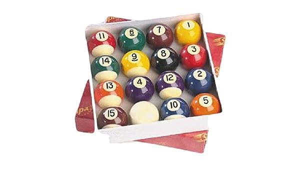 TORNEO de Billar Snooker mesa sólida rayas con 1 5 bolas de Set/8 ...