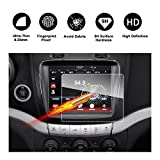 uconnect dodge - 2010-2018 Dodge Journey Uconnect 8.4-Inch Touch Screen Car Display Navigation Screen Protector, RUIYA HD Clear TEMPERED GLASS Car In-Dash Screen Protective Film