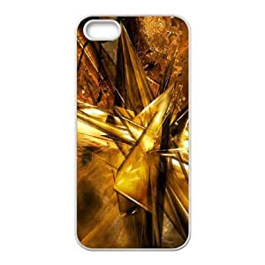 Abstraction Patterns Lines Light iPhone 4 4s Cell Phone Case White g1864121