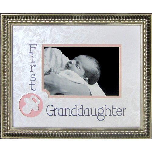 First Granddaughter Photo Frame by James Lawrence