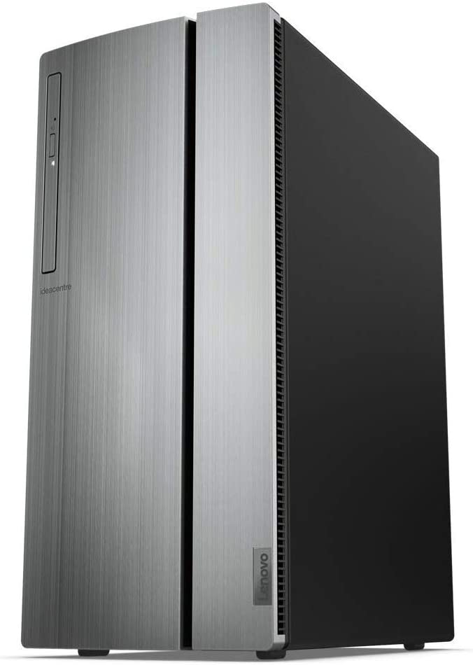 Lenovo IdeaCentre 720 Tower, 18L Desktop Computer (Ryzen 5 2600 Processor, 12 Dual Channel DDR4, 2TB, AMD Radeon RX 560 Graphics, Windows 10 Home), 90HY0007US, Warm Silver