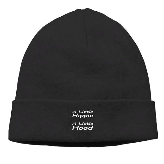 A Little Hippie A Little Hood New Winter Hats Knitted Twist Cap Thick  Beanie Hat Black df3617388fd