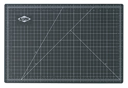 ALVIN, Professional Cutting Mats Green/Black Size - 36L x 24W inches, NEW by ALVIN (R)