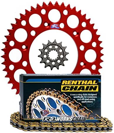 C246 130-Links Renthal C246 R1 Works 420-Pitch 130-Links Chain Size Model Outdoor/&Repair Store