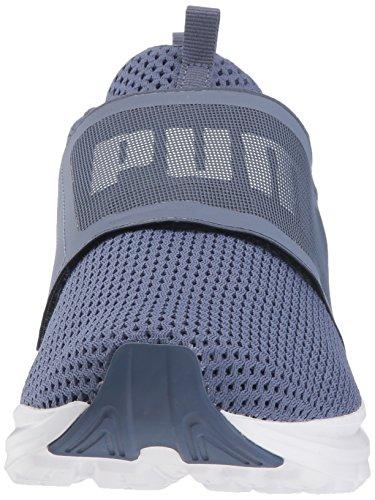 Maille Wn Bleu blanc Enzo Baskets Sangle Femmes Puma Pumas Indigo CwAq7ft