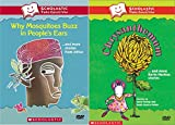Scholastic Video Collection 2-DVD Bundle - Why Mosquitos Buzz in Peoples Ears & Chrysanthemum and More Kevin Henkes Stories