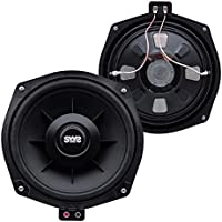 Earthquake Sound SWS-8X Shallow Woofer System Series Single 4 Ohm 600 Watt 8 Car Subwoofer + Speaker Adapter (pair)