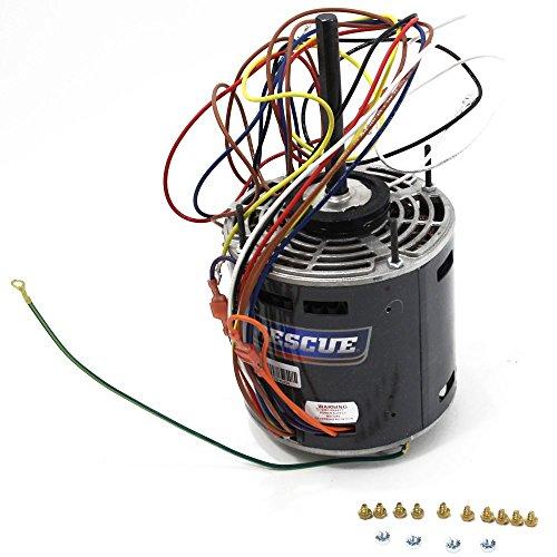 Emerson Rheem 5461 1/6 to 1/2 hp RESCUE Blower Motor