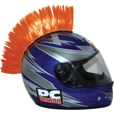 PC Racing Helmet Mohawk (ORANGE)