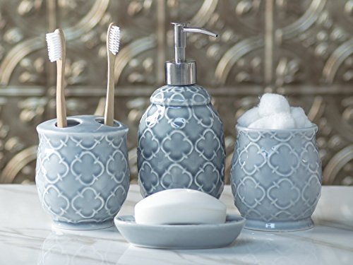 Review Designer 4-Piece Ceramic Bath