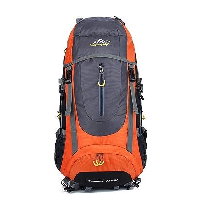 Toolsboy Deporte Camping Mochilas, Senderismo Mochila Impermeable al Aire Libre de Gran Capacidad con Cubierta