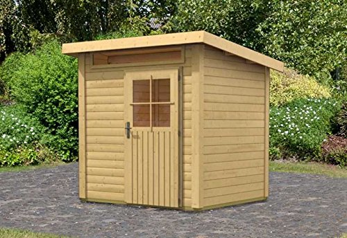 karibu gartenhaus schnbuch kundenbild pultdach gartenhaus modell maria with karibu gartenhaus. Black Bedroom Furniture Sets. Home Design Ideas