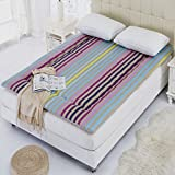 [cotton] Thicken Keep warm Anti-skidding Mattress,Breathable Collapsible Mattress Pad-Content 60x120cm(24x47inch)