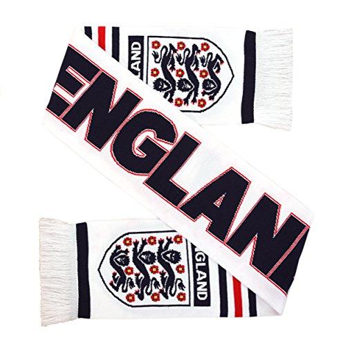 Football Scarf - England High Definition HD Knit Scarf