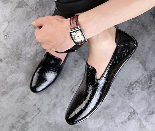 de Color los Nuevos Zapatos Guisantes Verano Tamaño Primavera Hombres Negro Zapatos Productos de y de Zapatos 38 Casuales Conducción gZEwqSxw