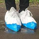 Cleaing Blue Machine-made Disposable Shoe