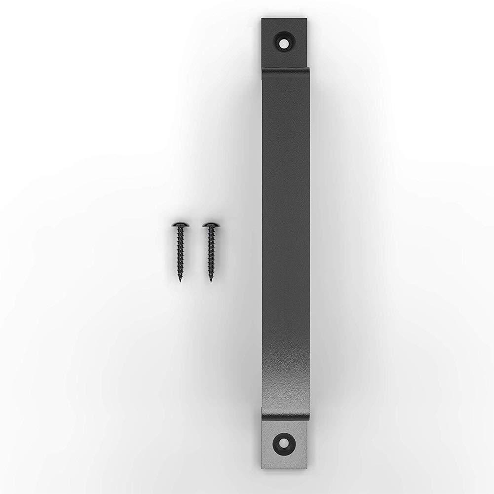 Puertas Inoxidable Acero Casa Exterior Garajes Armarios Trastero Interior S/ólido Tirador Simple Liso Pomo Corredera como en la Imagen Show Granero Manija Free Size