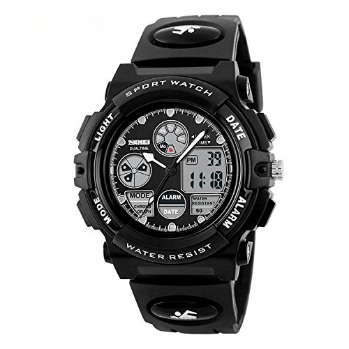 SKMEI 1163 Good Quality Japanese-quartz LED And Pointer Display 50M Waterproof Sports Watch by SKMEI