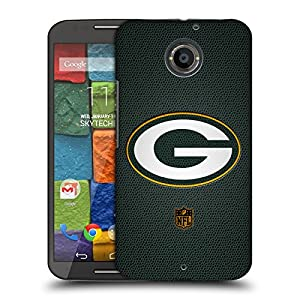 Official NFL Football Green Bay Packers Logo Hard Back Case for Motorola Moto X (2nd Gen)