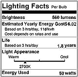 G8 Halogen Light Bulb 50W 120V T4 JCD Type G8