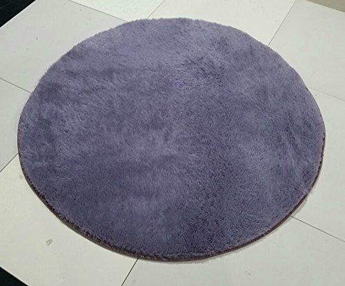 Circular rug fitness yoga mats nacelle lovely bedroom living room couch side carpet, diameter 2 meter short hair, Transactions
