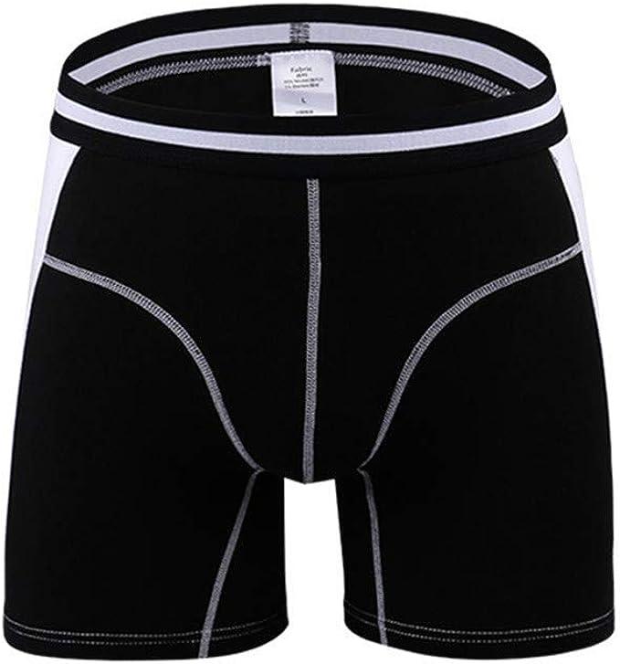 Men Boxer Briefs Underwear Plus Size Underpants Boxer Fashion Slim Trunks