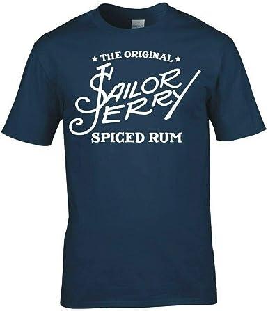 IIR Sailor Jerry Logo T-Shirt: Amazon.es: Ropa y accesorios