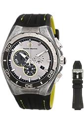 TechnoMarine Men's 112008 Cruise Steel Evolution Stonewashed Steel Case Watch