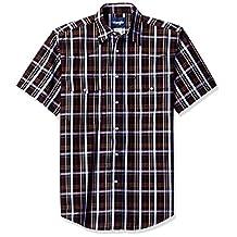 Wrangler mens Wrinkle Resist Two Pocket Snap Front Short Sleeve Shirt