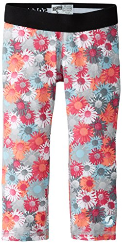 Soffe Big Girls' Dri Capri, Summer Daisy, X-Small by Soffe