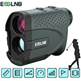 ESSLNB Range Finder Golf with Slope 4 Scan Modes Rangefinder for Golfing Hunting 660 Yards Flag-Lock with Vibration Distance/Speed/Angle Measurement