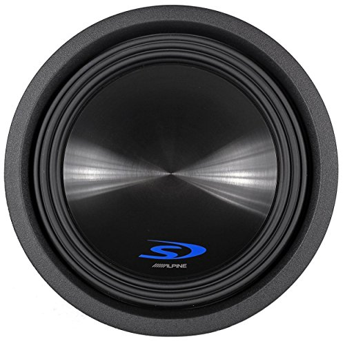 Alpine SWS10D4 / SWS-10D4 / SWS-10D4 Type-S 10 Car Subwoofer (Alpine Subwoofer Type S)