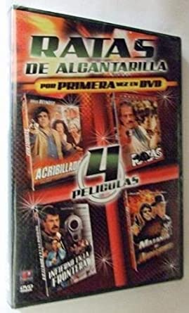 Amazon.com: Ratas De Alcantarilla (4 Peliculas): Jorge ...