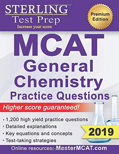 Pdf Test Preparation Sterling Test Prep MCAT General Chemistry Practice Questions: High Yield MCAT Questions