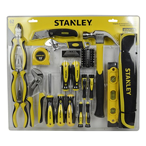 Stanley 62 Piece Mixed Hand Tool Set