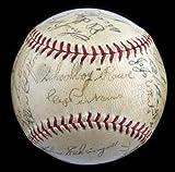 Beautiful-1935-Detroit-Tigers-World-Series-Champs-Team-Signed-Baseball-JSA-COA