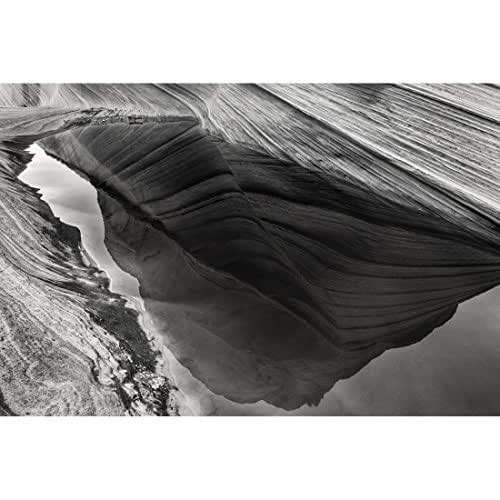 Amazon.com: Somber Reflection Pool - Textures at The Wave