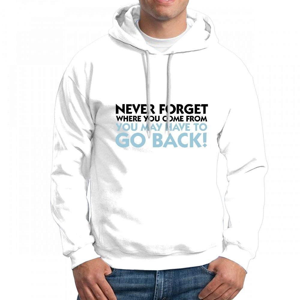 Customizable Personalized Never Forget Where You Come from Hoodie Sweatshirt