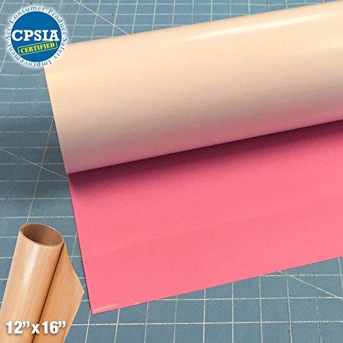Siser Easyweed Pink Heat Transfer Craft Vinyl Roll (150ft x 15'' Bulk w/ Teflon roll) by Siser