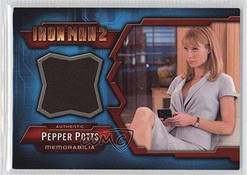 Ironman And Pepper Potts Costume (Pepper Potts (Trading Card) 2010 Upper Deck Iron Man 2 - Costume)