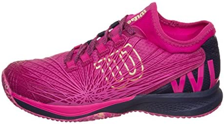 Wilson Kaos 2.0 Symbio Fit Women FS18, morado, 40 1/3: Amazon.es ...