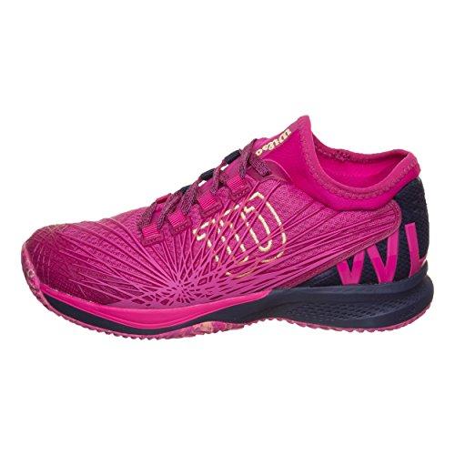 Tout Chaussure 3 Symbio Tennis Wilson KAOS Fit Bleu 43 1 Femmes Terrain 0 2 De Foncé Chaussures Pink wRzvqg
