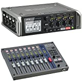 Zoom F4 MultiTrack Field Recorder Bundle with Zoom FRC-8 F-Control Mixing Control Surface