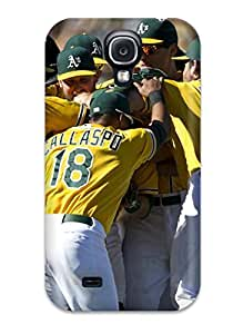 Awesome NStWXXz73PQcNQ DanRobertse Defender Tpu Hard Case Cover For Galaxy S4- Oakland Athletics